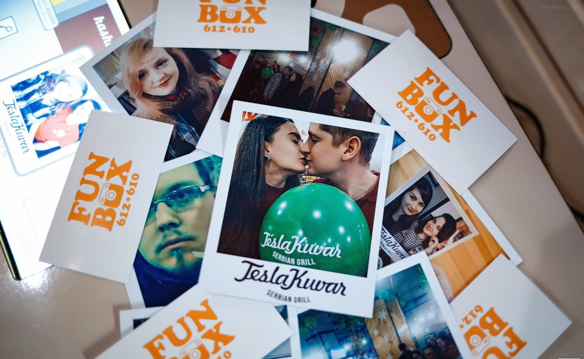 FunBox — аренда Фотокабинки, ВидеоСпиннера360, Инстапринтера в Тюмени